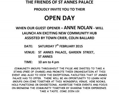 Friends of St Annes Palace