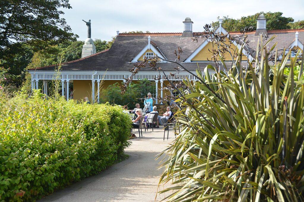 Pavilion in Ashton Gardens, St Annes