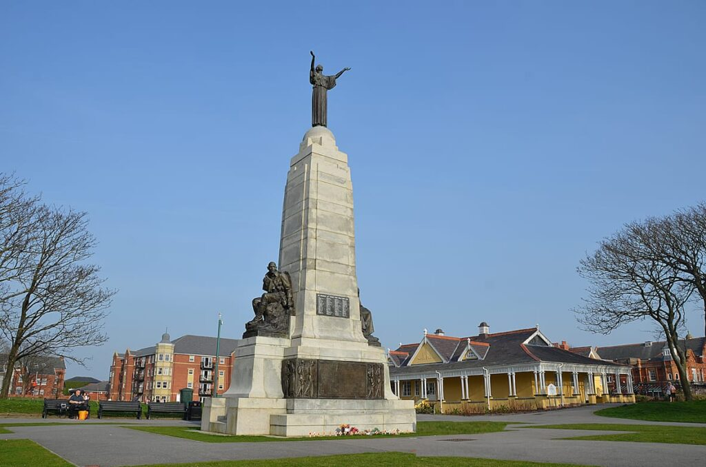 Ashton Gardens War Memorial St Annes