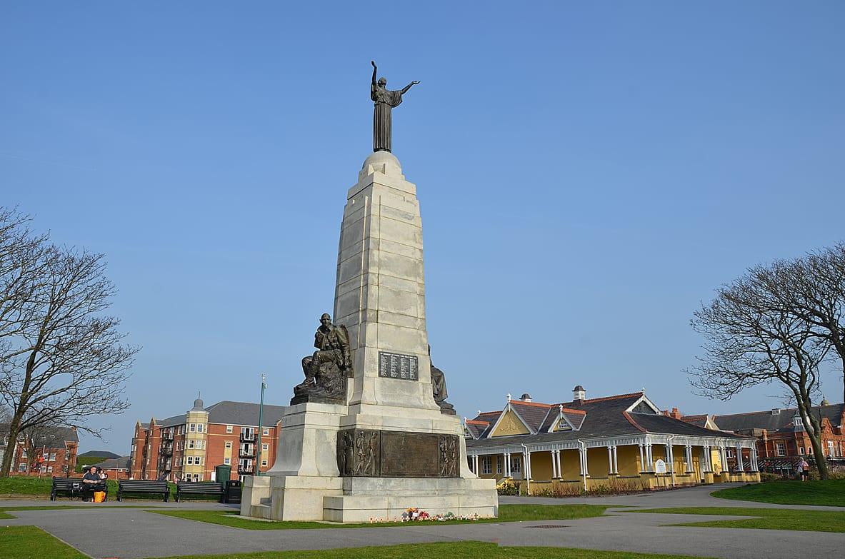 Ashton Gardens War Memorial St Annes