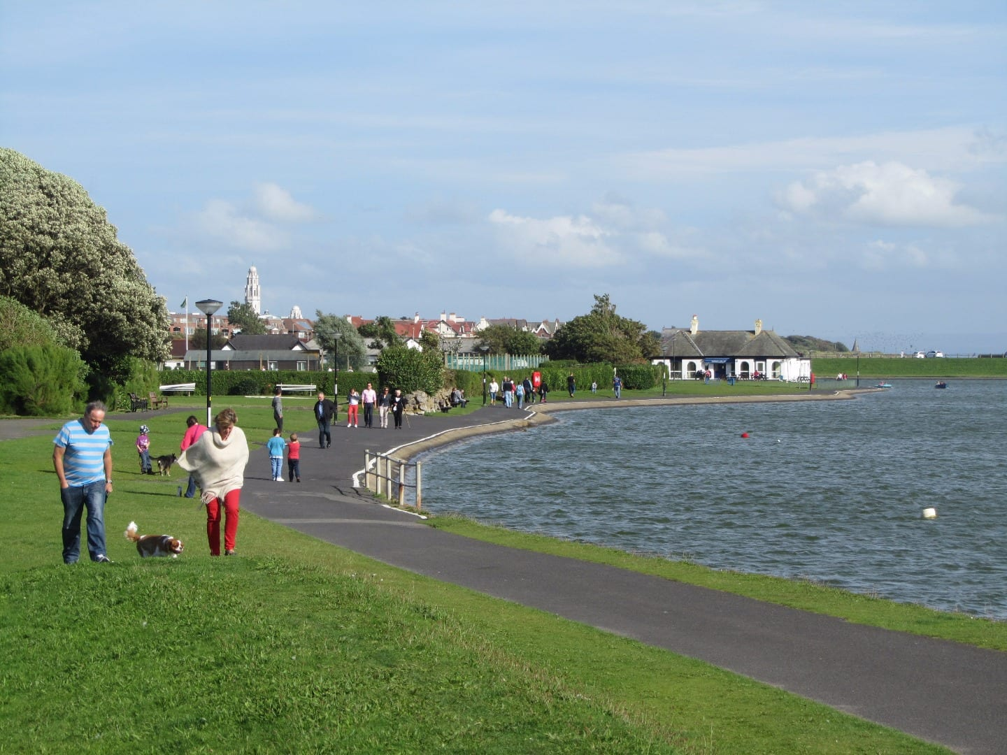 Sea Defence Work at Fairhaven Lake and Church Scar