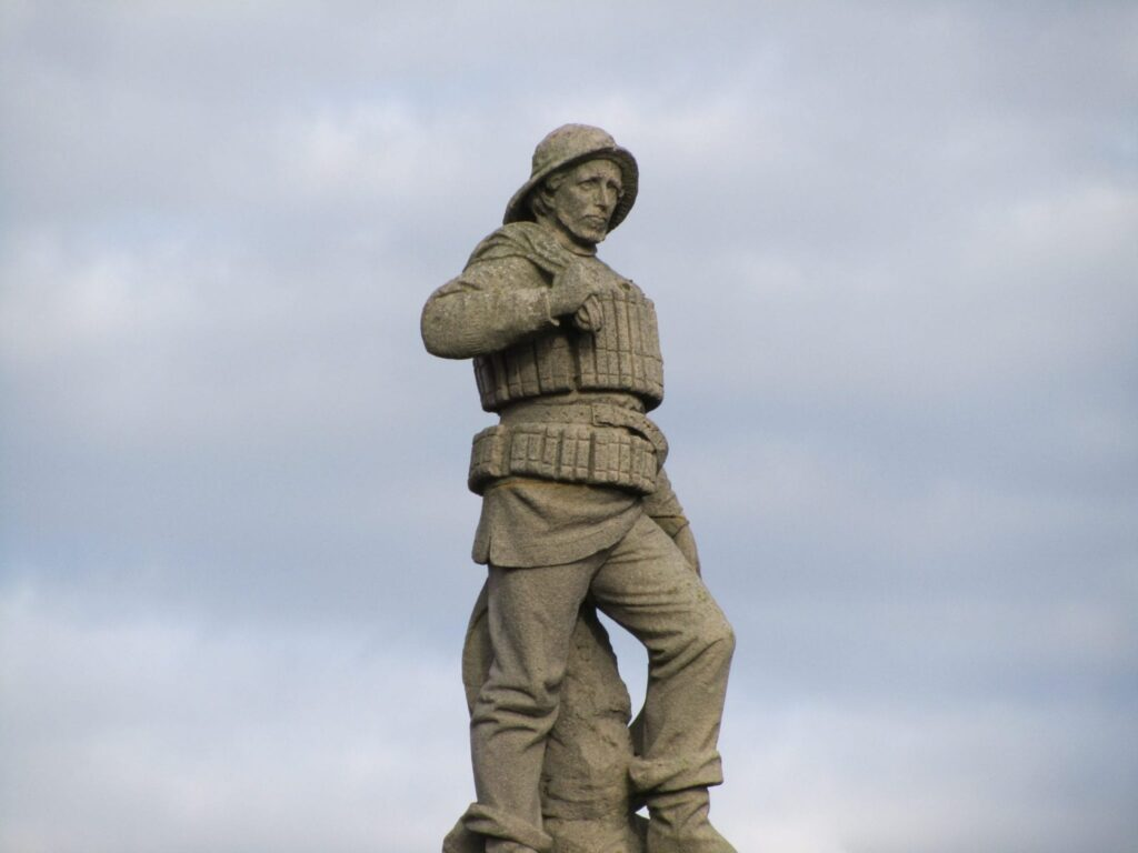 Monument to the Mexico Lifeboat Disaster at St Annes