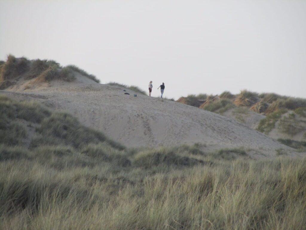 Sand dunes at St Annes