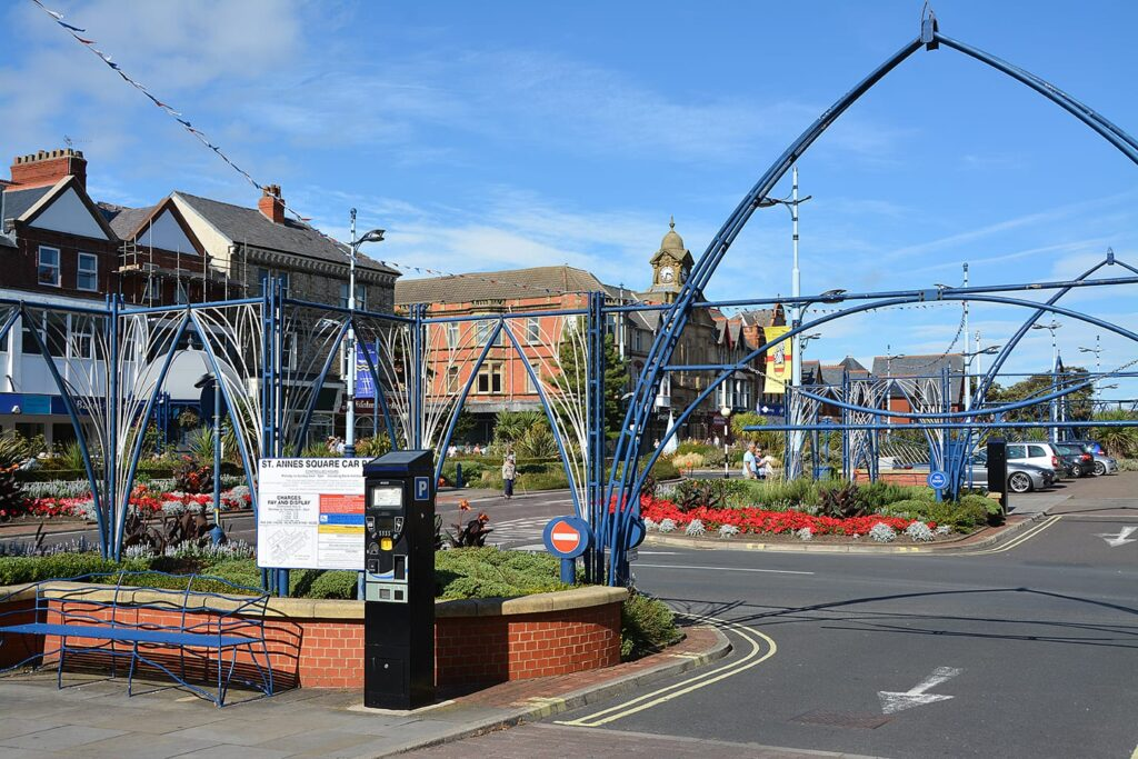 St Annes Town Centre: an attractive place to shop