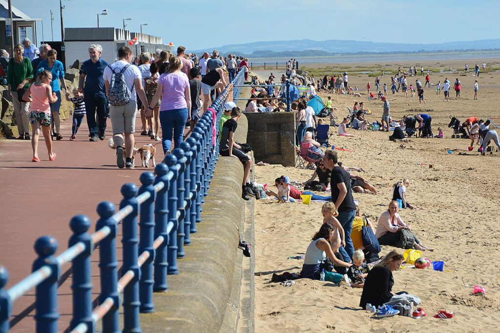 When and where you can take dogs on St Annes Beach