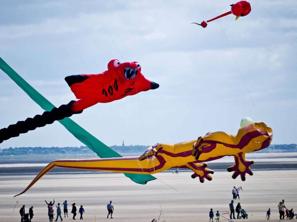 St Annes International Kite Festival. Photo: Dawn Mander