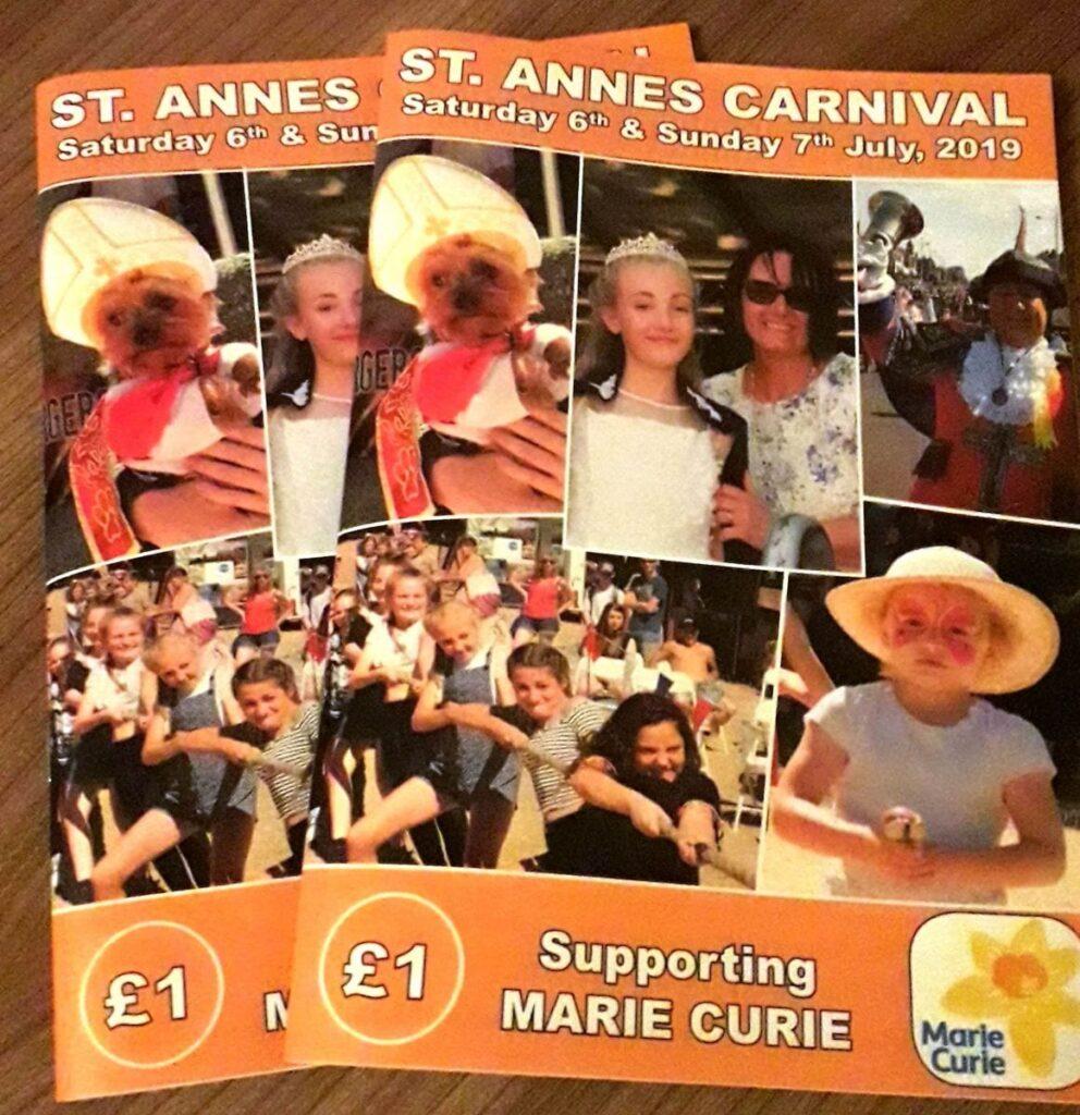 St Annes Carnival programme 2019