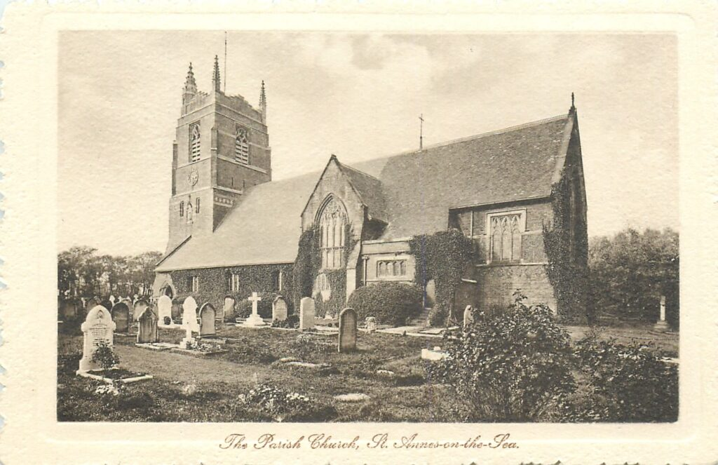 Old photos of St Annes, Tuck Postcards