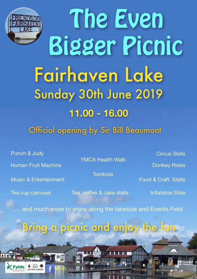 Big Picnic at Fairhaven Lake
