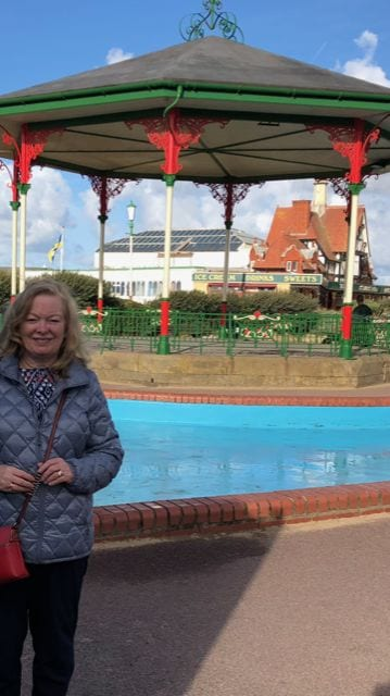 Paddling Pool at St Annes by Diane Runnells who now lives in Indiana