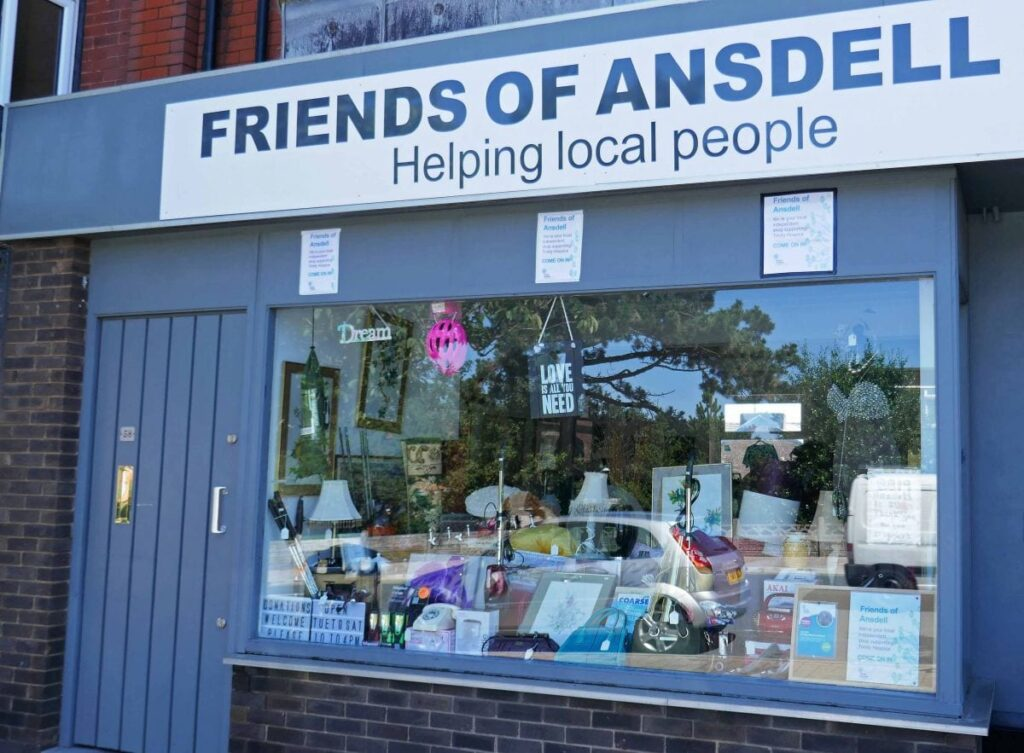 Shops in Ansdell Town Centre. Photo: Sue Massey