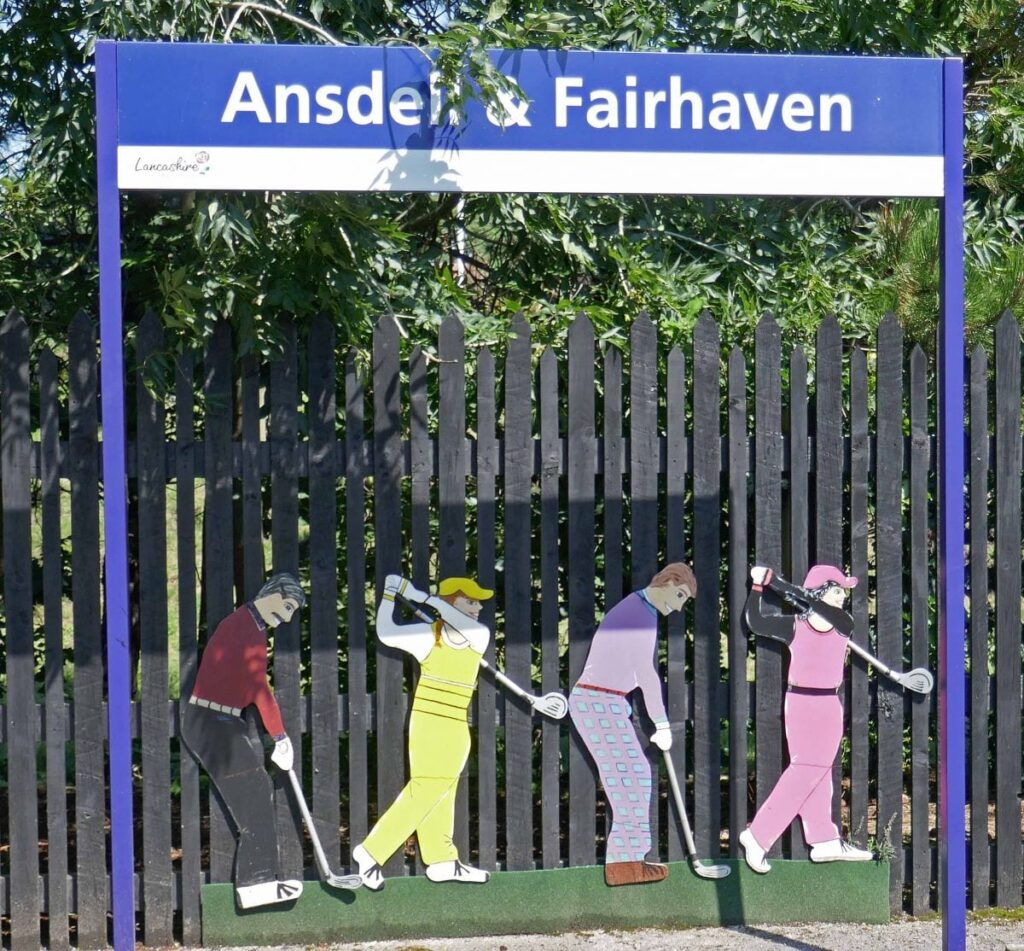 Ansdell and Fairhaven Railway Station. Photo: Sue Massey