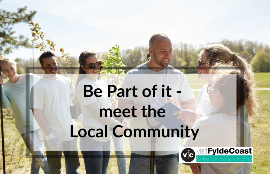 Volunteer and meet the community