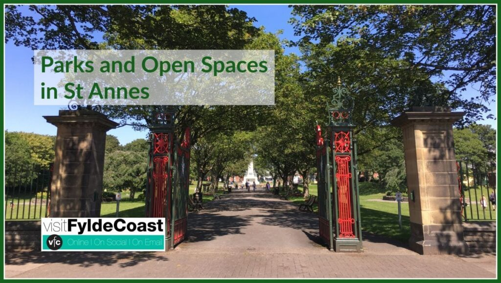Parks and Open Spaces in St Annes with Visit Fylde Coast