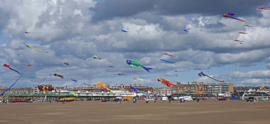 St Annes Kite Festival. Photo: Sue Massey
